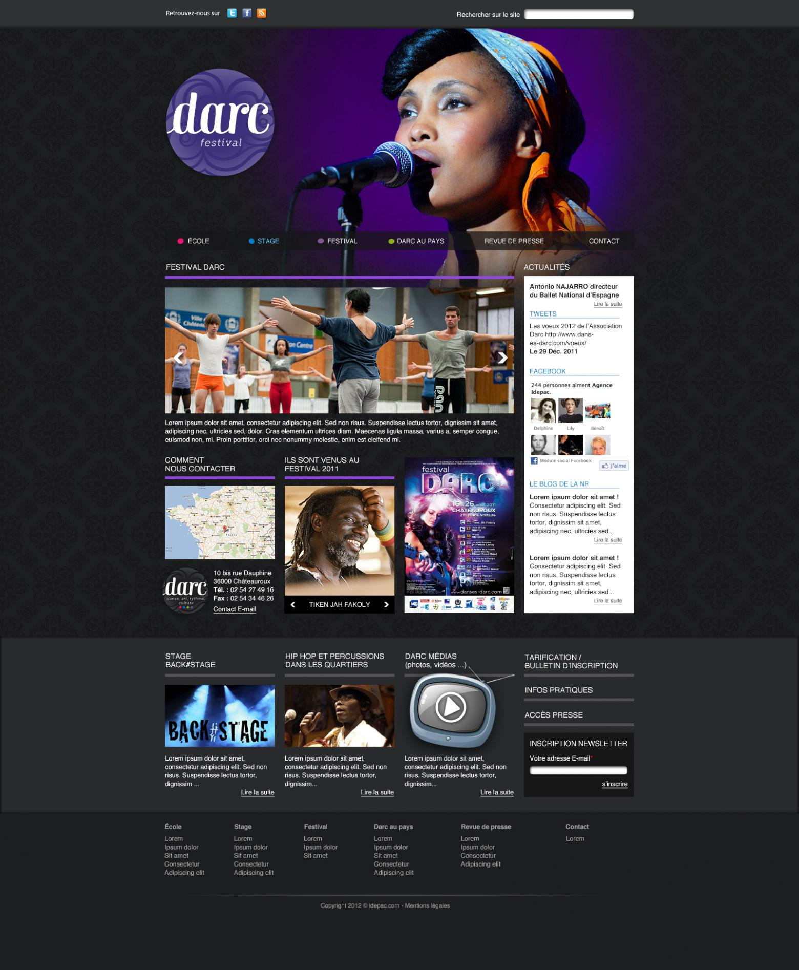 Home page DARC