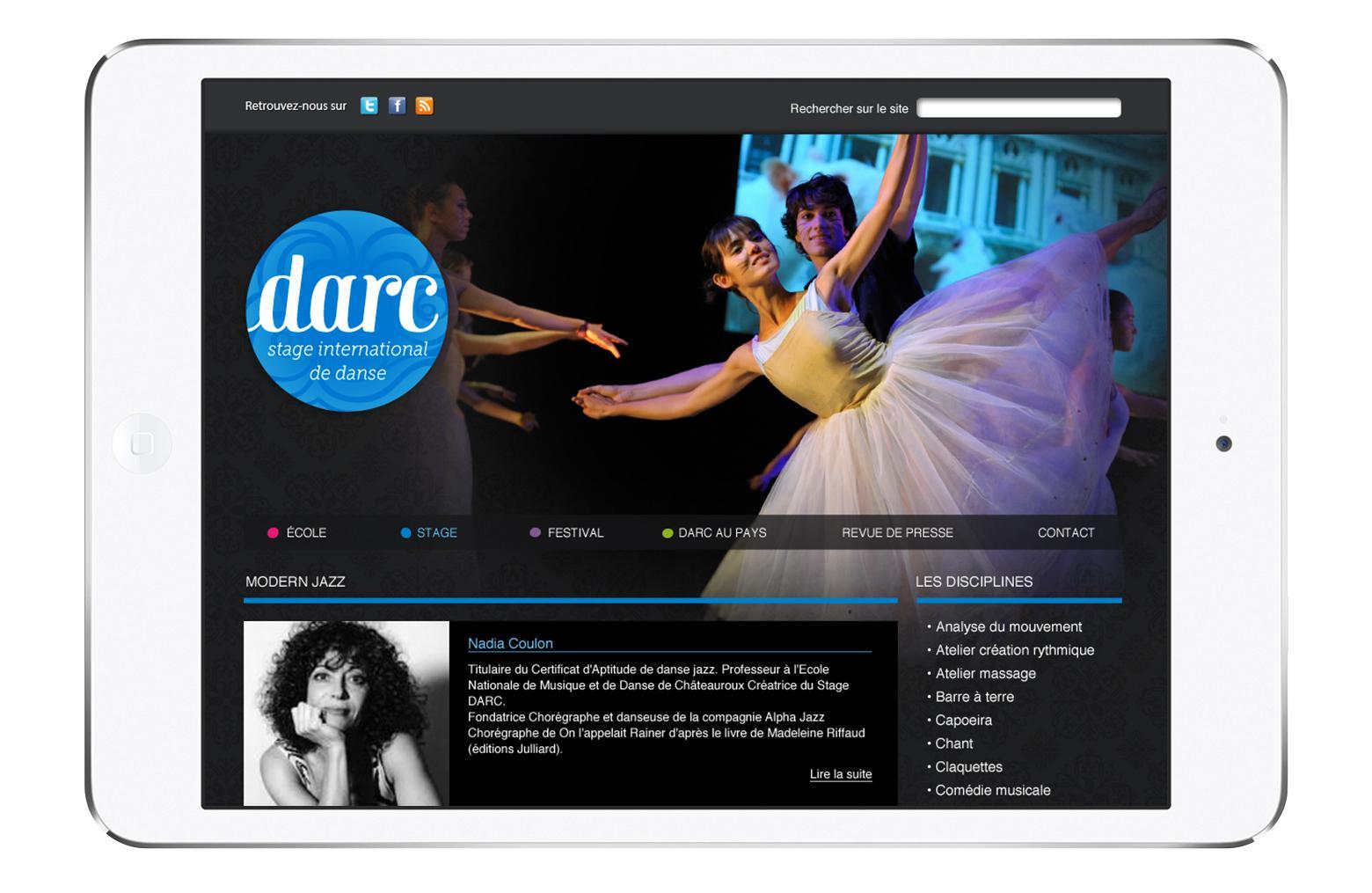 Ecran iPad DARC
