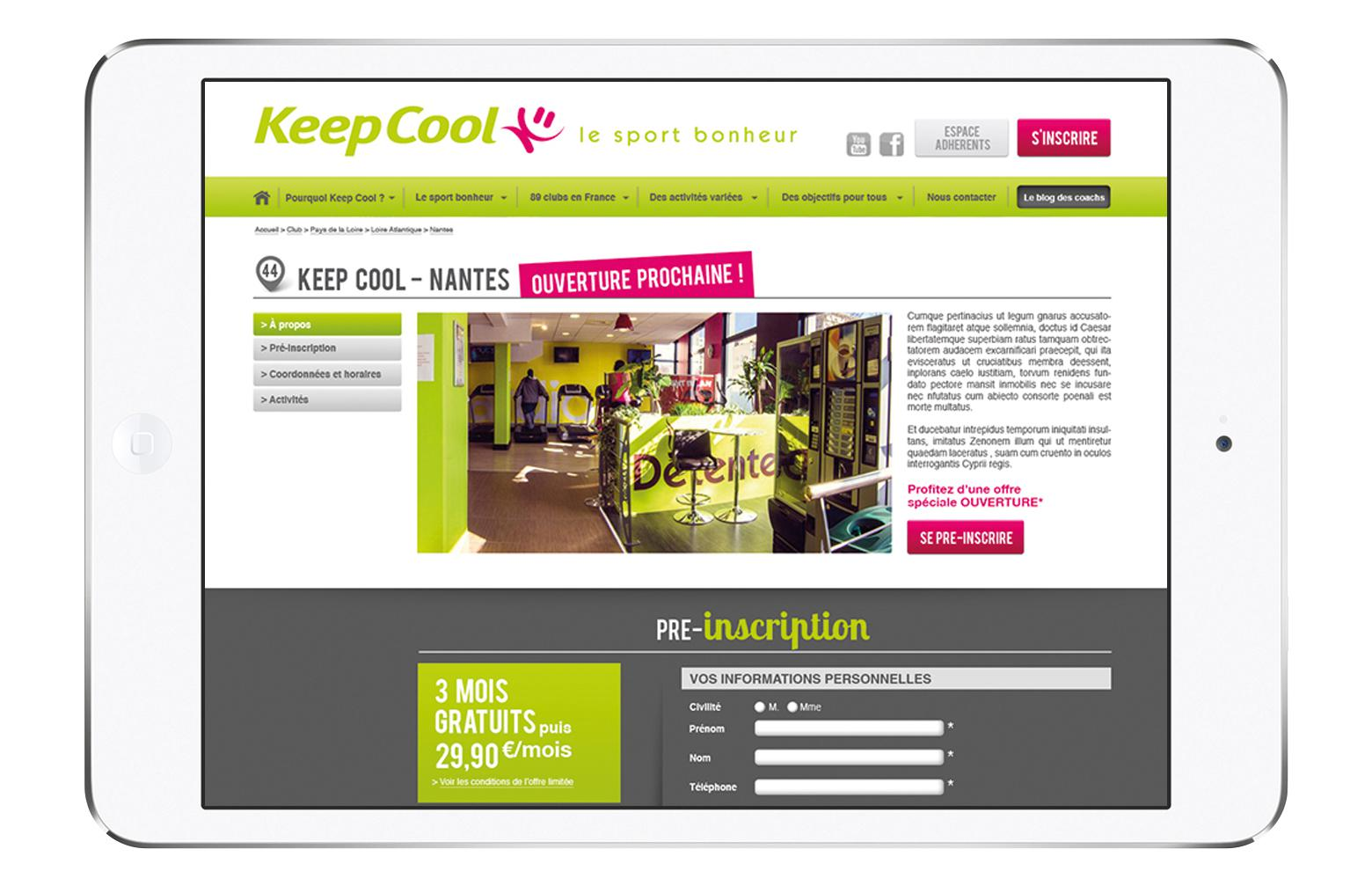 Page Club KeepCool